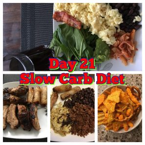 Day 21 Slow Carb Diet