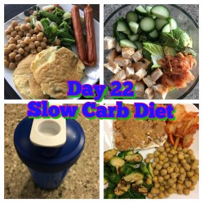 Day 22 slow carb diet