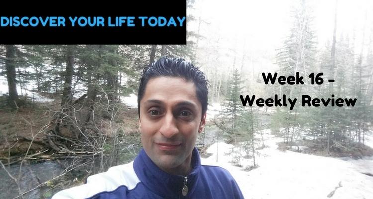 Week 16 – Weekly Review