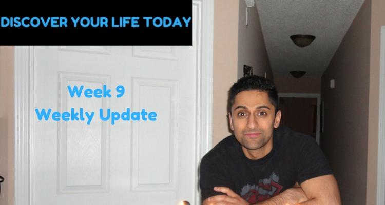 Week 9 Weekly Update