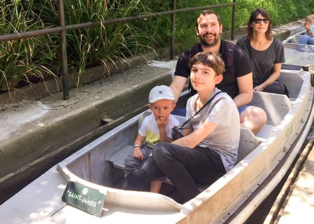 Mon fils, mon neveu, ma soeur et moi