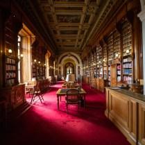 L'actuelle salle de lecture de la bibliothèque