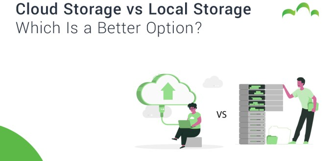 Cloud Storage vs Local Storage: Which Is a Better Option?