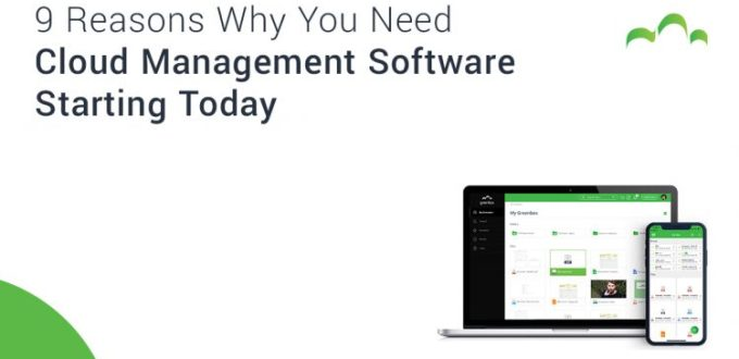 9 reasons why you need cloud management software starting today