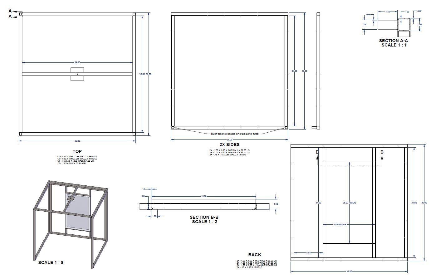 Powder Coating Oven And Setup
