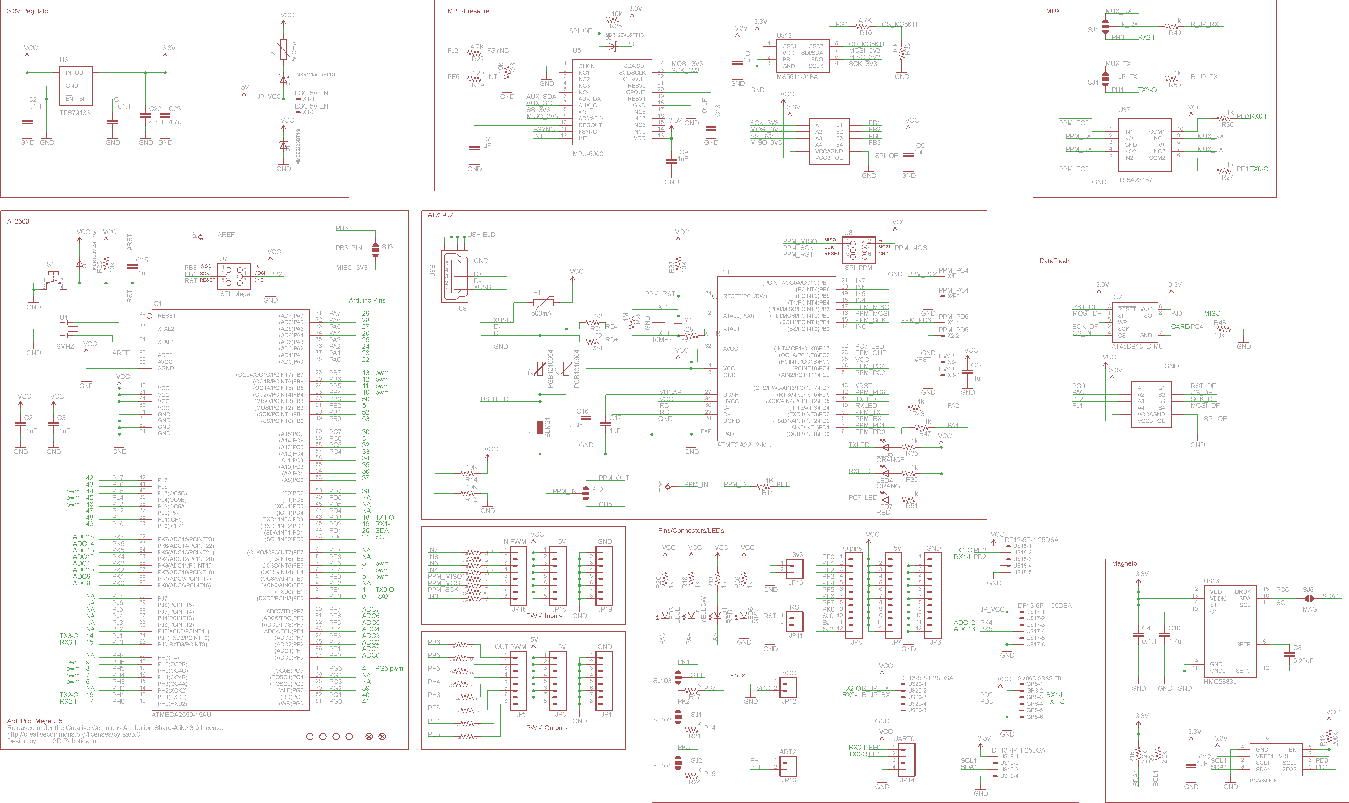 Where To Fine Board Schematics For Ardupilot 2 6 Et Al