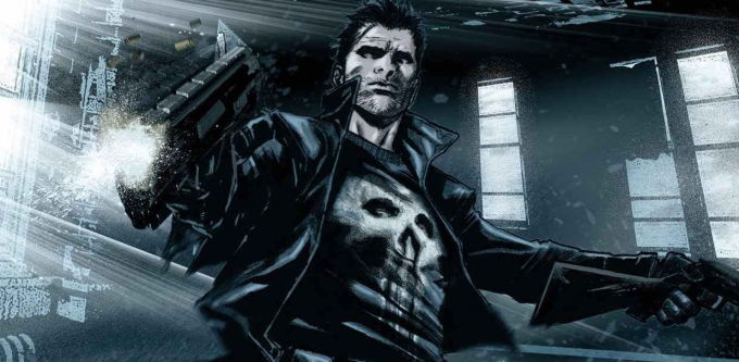 The Punisher as seen in Marvel Comics.