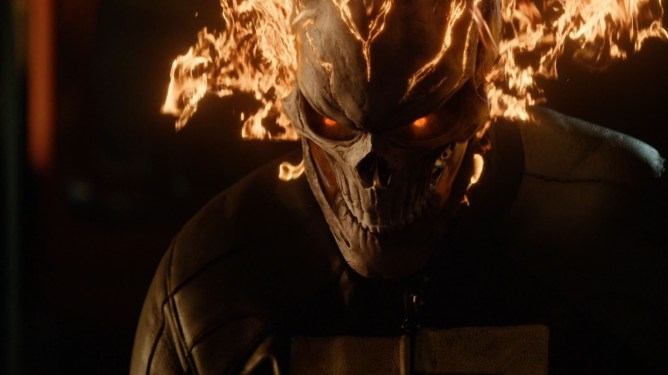 Gabriel Luna as Ghost Rider in season 4 of Marvel's Agents of S.H.I.E.L.D.