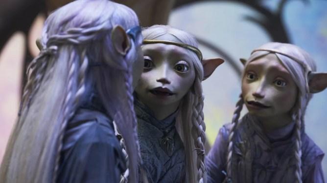 Gelflings as seen in The Dark Crystal: Age of Resistance.