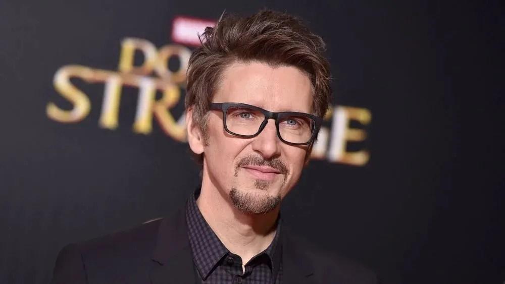 Director Scott Derrickson on the red carpet premier of Marvel's 'Doctor Strange.'