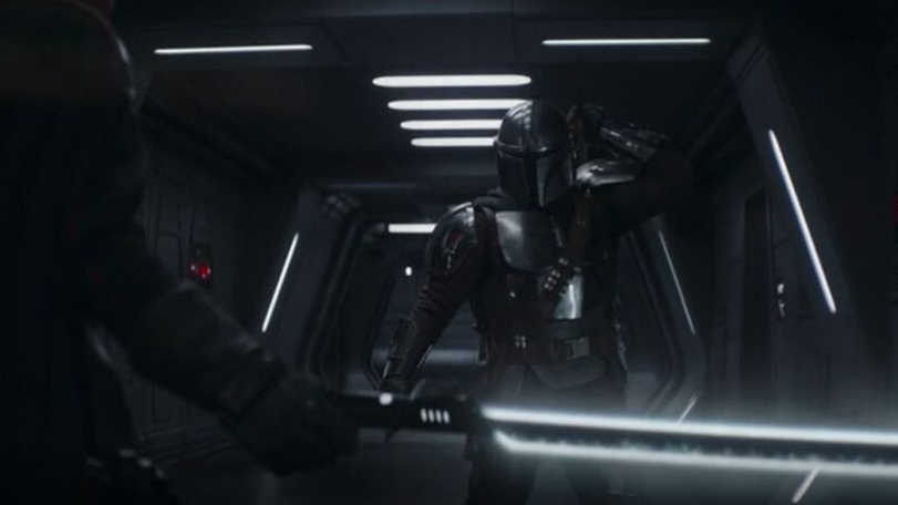 Mando prepares to face Moff Gideon and the Darksaber in the Season 2 finale of The Mandalorian.
