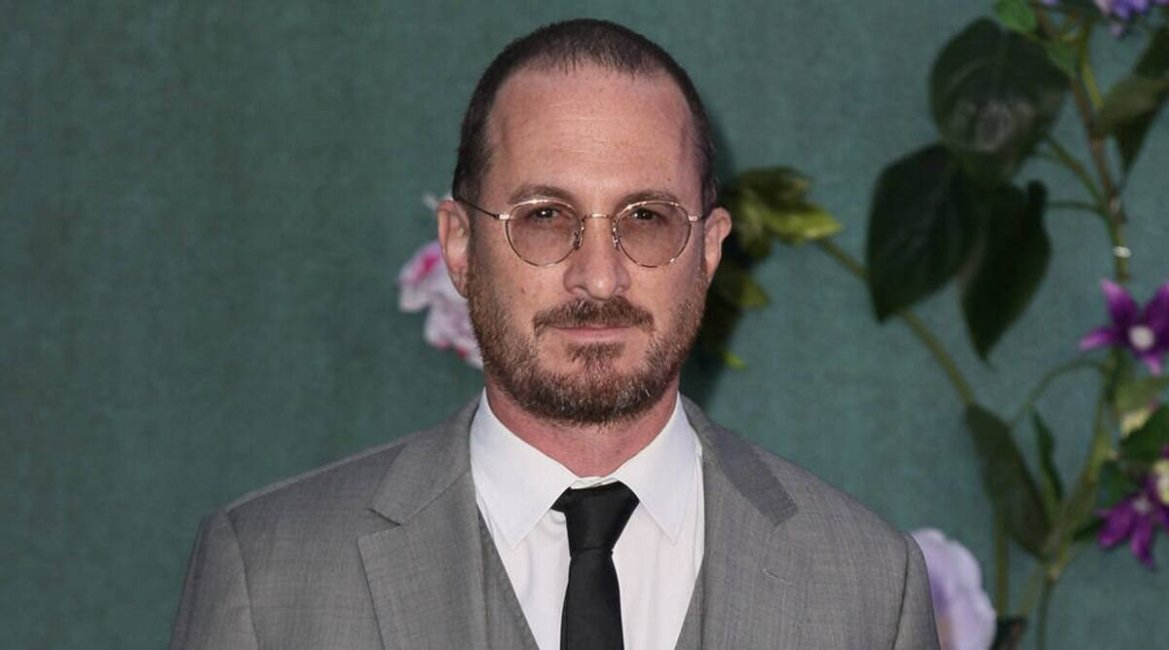 Darren Aronofsky who is preparing to direct his next feature 'The Whale' at a red carpet event.