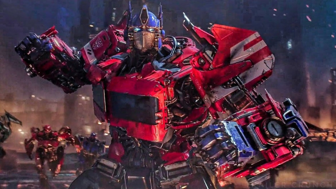 Classic Optimus Prime on Cybertron as seen in the film Bumblebee, the beginning of a new Transformers reboot initiative from Paramount.