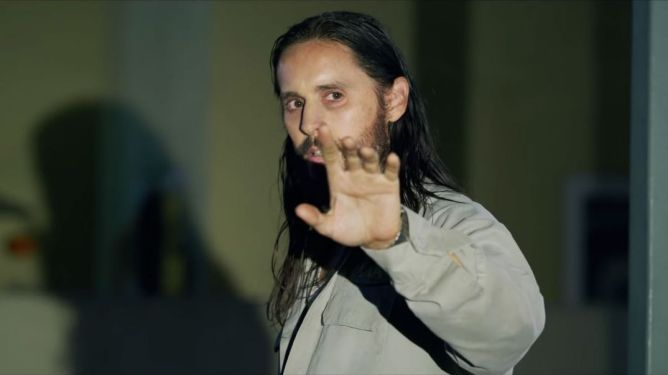 Jared Leto's as the main antagonist serial killer as seen in The Little Things.