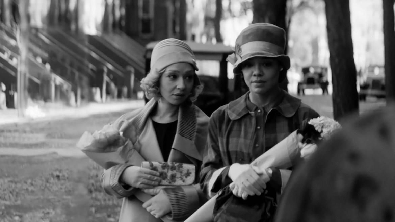 Ruth Negga and Tessa Thompson in the Sundance 2021 film Passing.