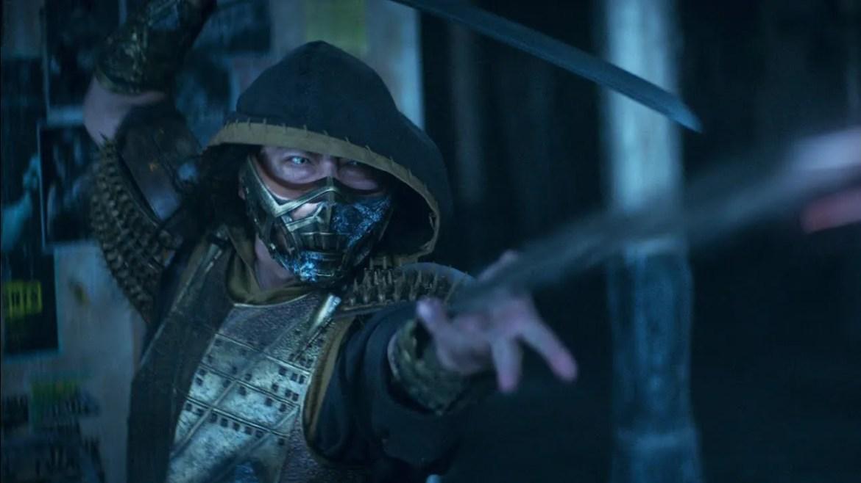 Hiroyuki Sanada as Scorpion in Mortal Kombat coming to HBO Max in April 2021.