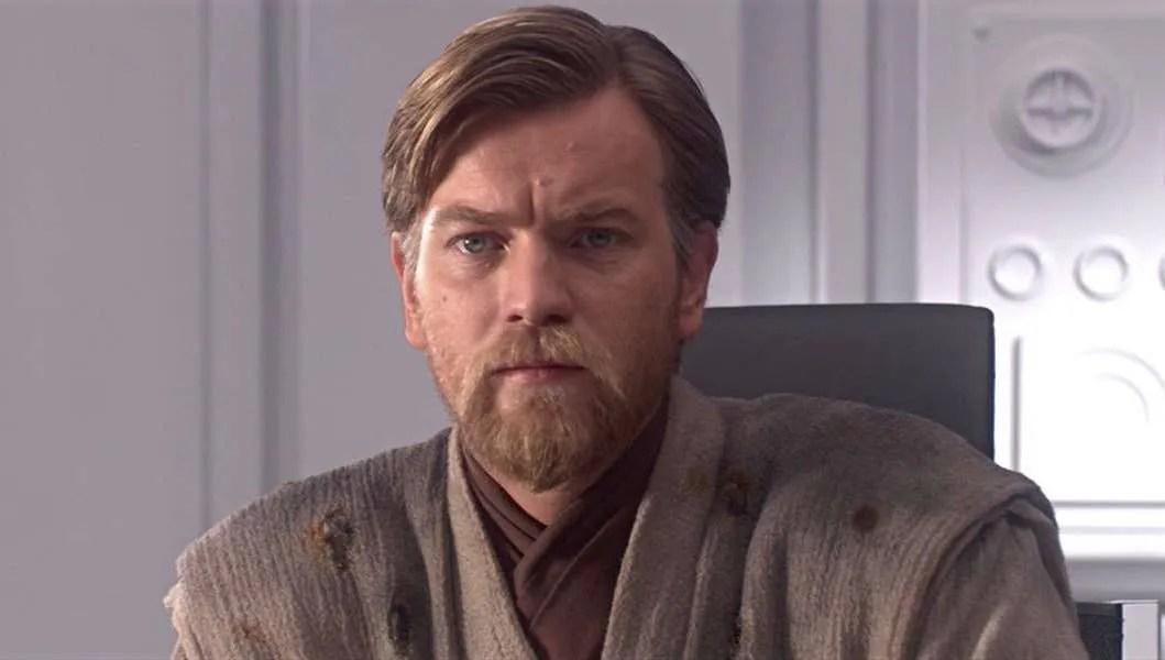 Ewan McGregor as Obi-Wan Kenobi in Revenge of the Sith, set to return in the Obi-Wan Kenobi solo series for Disney+.