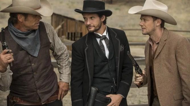Ben Barnes as a hot cowboy in Westworld