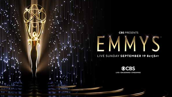 The official logo for the 73rd Annual Primetime Emmys taking place Sunday September 19, 2021, with the all the official nominations just being announced.