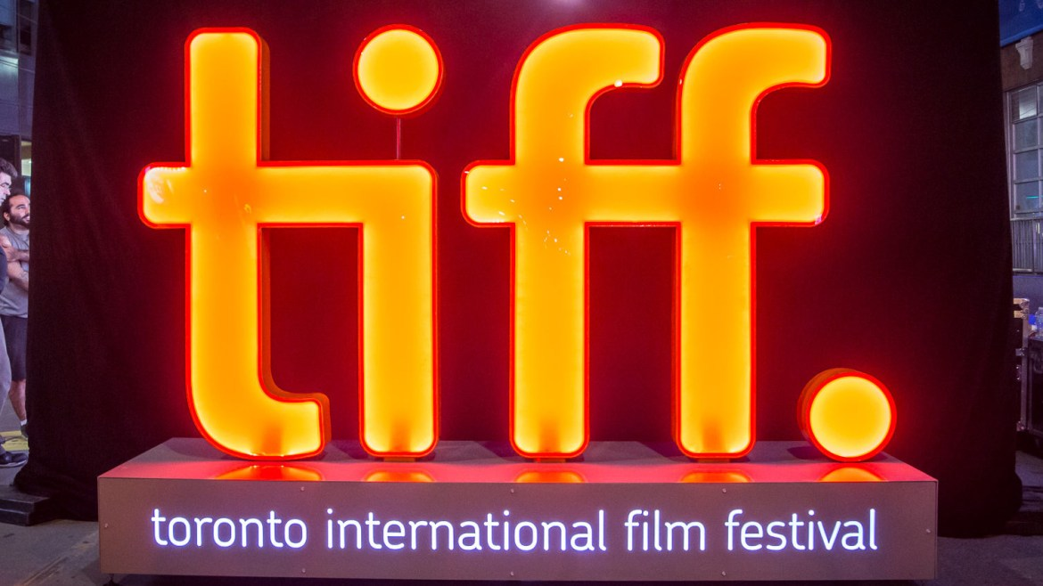 The official logo and banner for TIFF, the Toronto International Film Festival.
