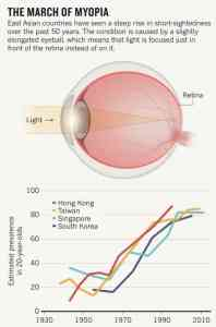 Natural light prevents myopia