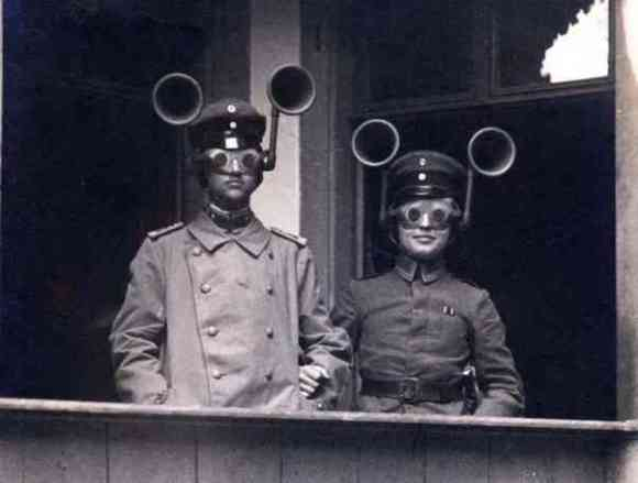 Dual head-mounted listening devices