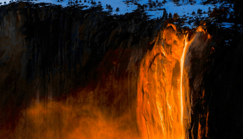 Everything you need to know about Yosemite's stunning 'firefall' phenomenon