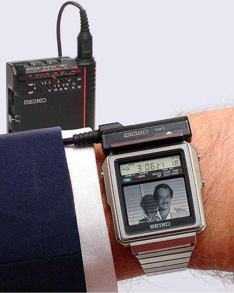 The Seiko TV Watch, 1982