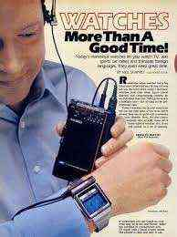 The original Apple Watch: Seiko's TV Watch from 1982