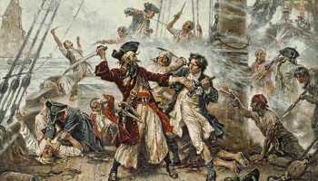 Why pirates actually wore an eye patch