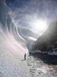 Icelandic Ice Wave