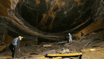 The Dragon's Eye Stone Mine in the UK