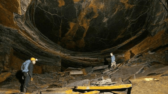 The Dragon's Eye Stone Mine in the UK