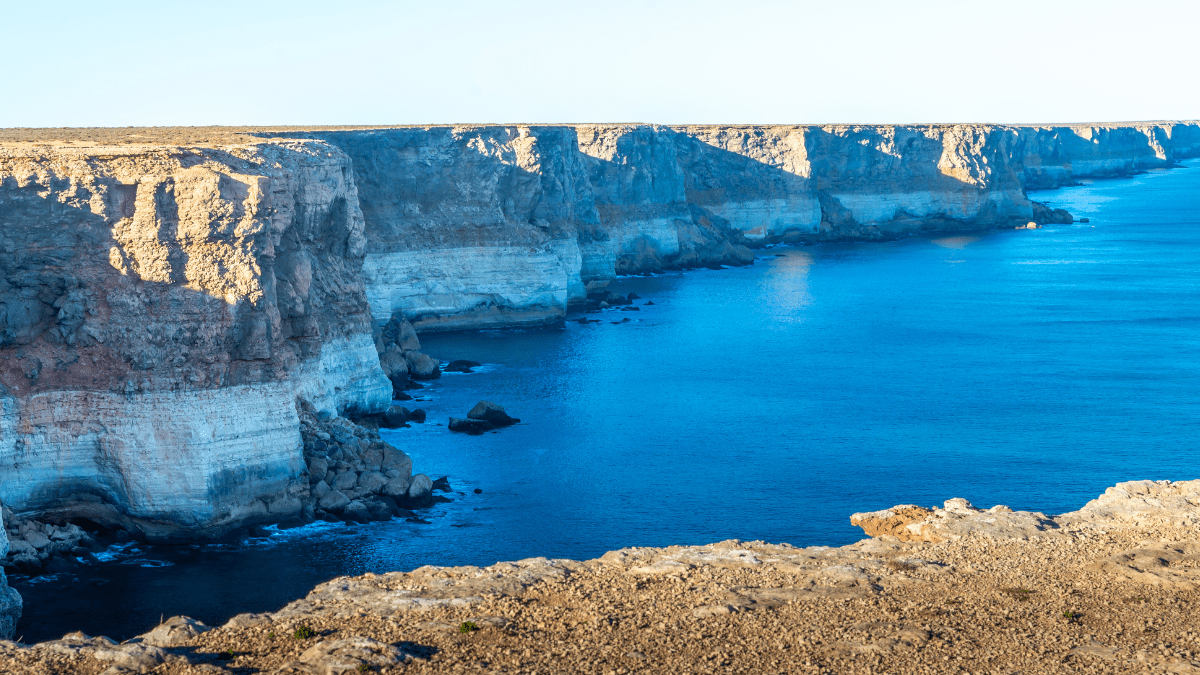 The edge of the Earth: Australia's Nullarbor Cliffs