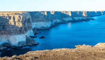 The edge of the Earth: Australia's Nullarbor Cliffs