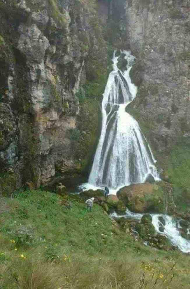 Waterfall of the Bride Peru