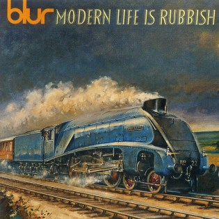 Blur - Modern Life is Rubbish (1993) Diseñado por Bayswater Road