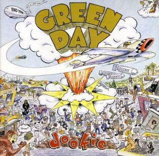 Green Day - Dookie (1994) Diseñada por Richie Bucher
