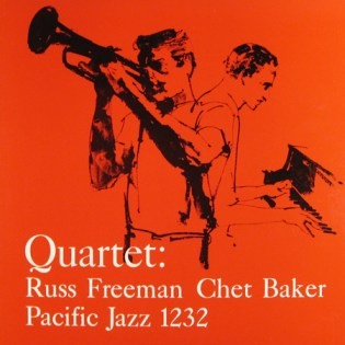 Chet Baker - Russ Freeman Quartet (1956) Design- William Claxton Illustration- John Altoon