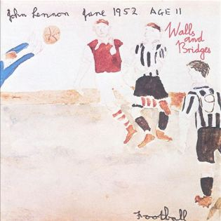 John Lennon - Walls and Bridges (1974) Diseñada por Roy Kohara