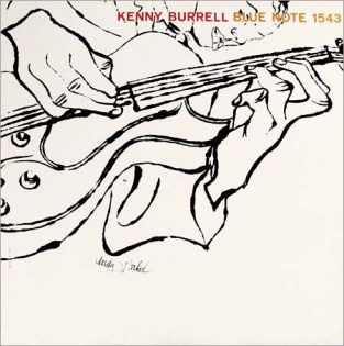 Kenny Burrell - Blue Note (1956) Illustration Andy Warhol Design - Reid Miles