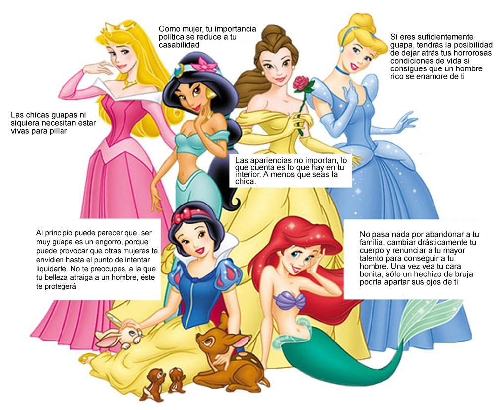 princesas disney machismo disenosocial