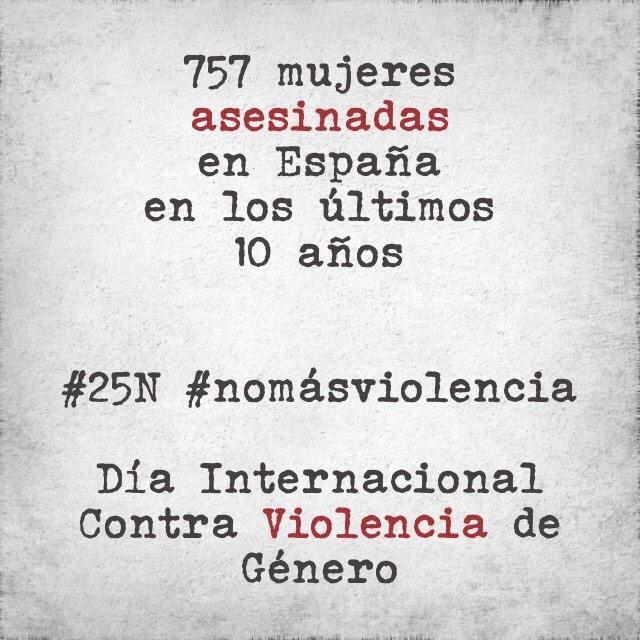 cifras muertes violencia de genero