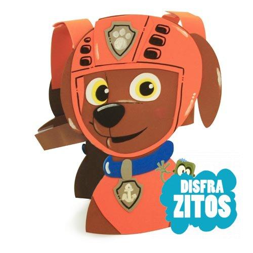 Disfraz goma eva patrulla canina zuma tienda online - Manualidades patrulla canina ...