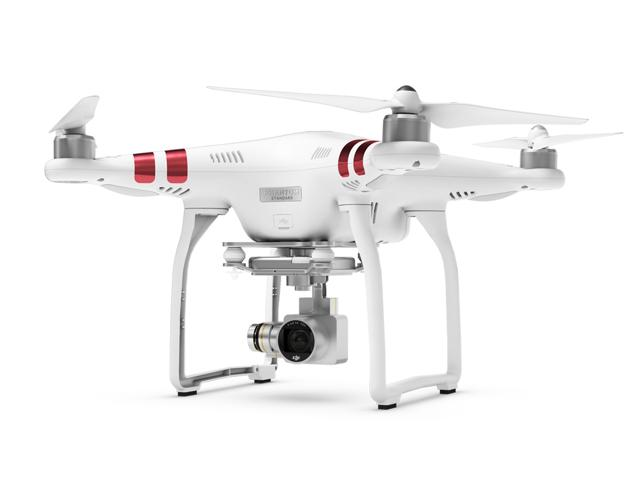 DJI Phantom 3 Standard Quadcopter Aircraft with 3-Axis Gimbal and 2.7k Camera (DJI Official Refurbish)