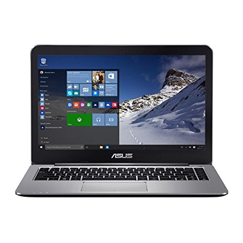 ASUS VivoBook R416SA-EH21 14″ Full HD Laptop (Quad-Core N3700, 4GB DDR3 RAM, 128GB eMMC, Windows 10), Metallic Gray
