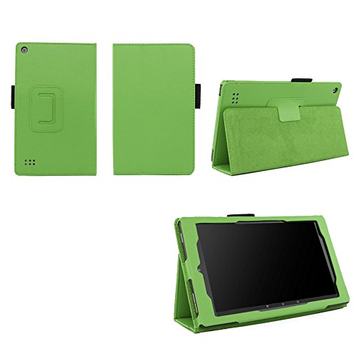 Case for Fire 7 2015 Folio Case with Stand for Kindle Fire 7 (5th Generation, Sept 2015 Model) – Green