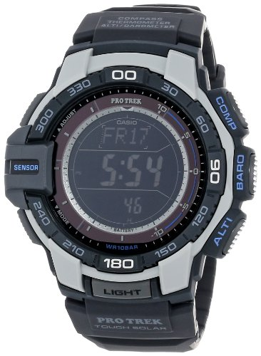 "Casio Men's PRG-270-7CR ""Pro Trek"" Resin Digital Solar Watch"