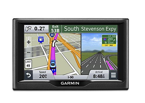 Garmin Nuvi 57LM GPS Navigator System with Spoken Turn-By-Turn Directions, Lifetime Map