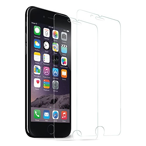 iPhone 7 Screen Protector, SOWTECH 2-Pack Premium Tempered Glass Screen Protector Film for Apple iPhone 7 4.7″